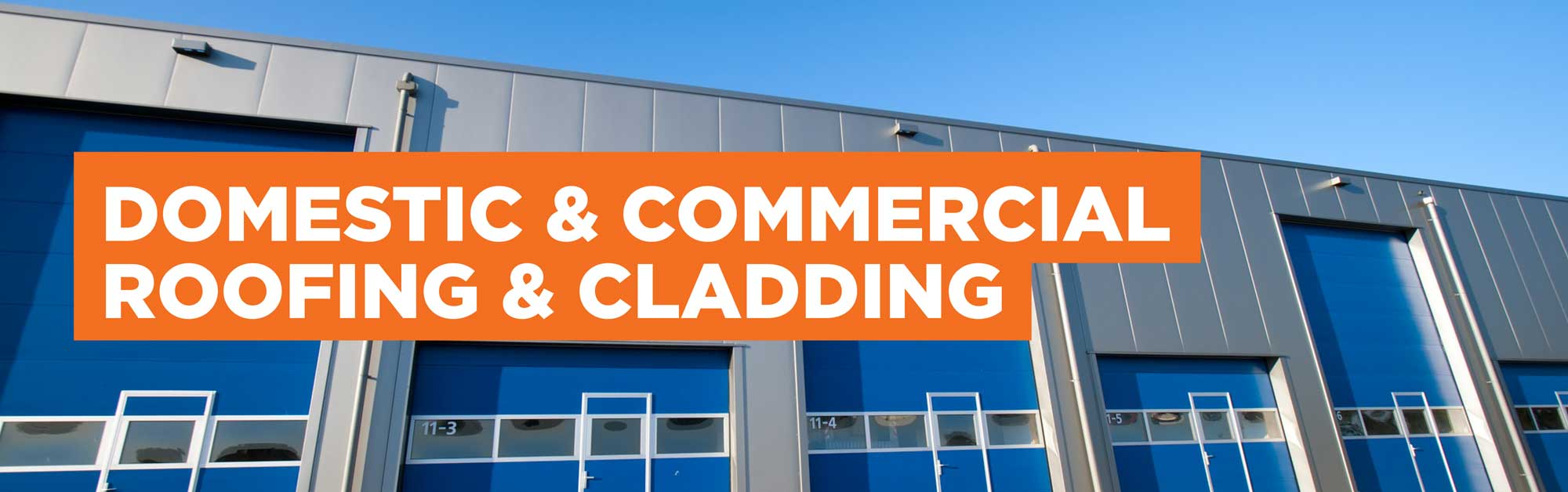 Domestic & Commercial Roofing & Cladding